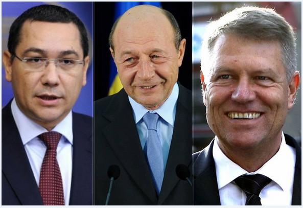 Ponta Iohannis Basescu