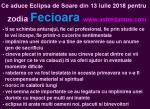 Ce aduce Eclipsa de Soare din 13 iulie 2018 pentru zodia Fecioara