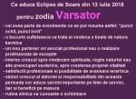 Ce aduce Eclipsa de Soare din 13 iulie 2018 pentru zodia Varsator
