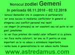 Norocul in 2019 la zodia Gemeni