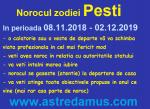 Norocul in 2019 la zodia Pesti