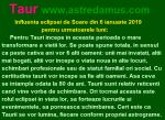 Taur – Influenta eclipsei de Soare din 6 ianuarie 2019 pentru urmatoarele luni